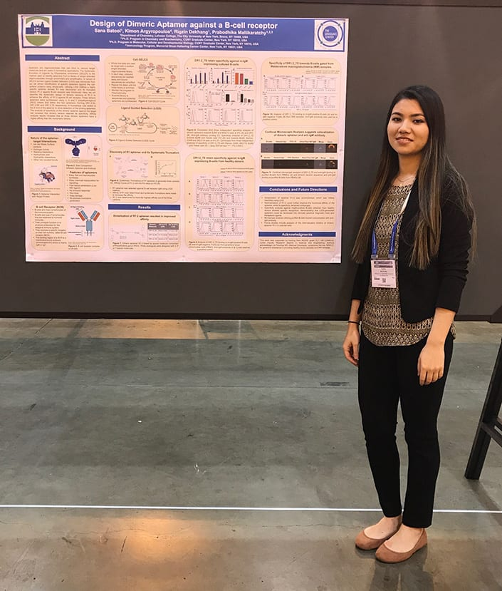 Sana Batool at ACS NOLA 2018